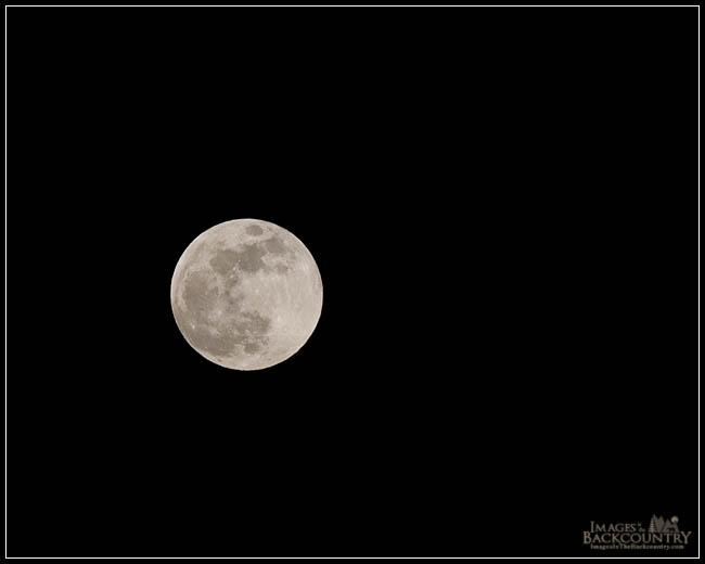 Full Moon - 01-10-2009