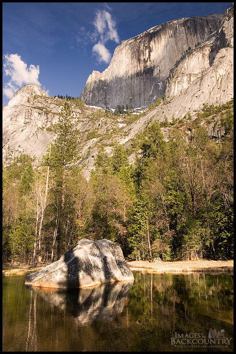 Rock and Half Dome in the Afternoon