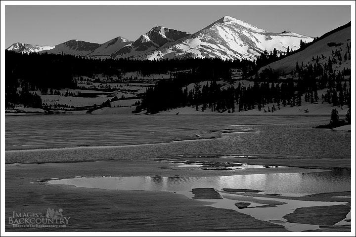 Mammoth Peak in Black and White