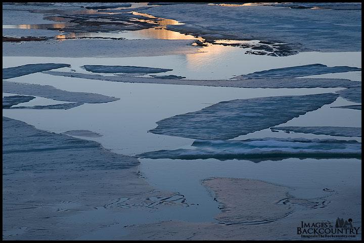 Frozen Tioga Lake