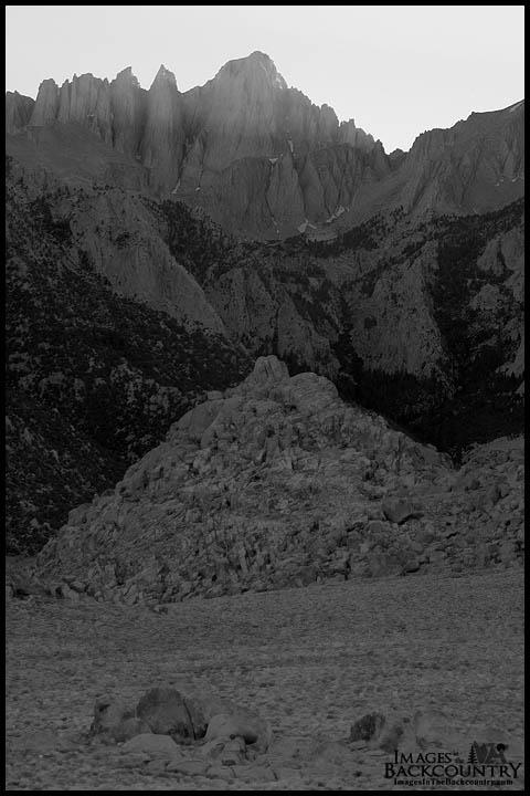 Mount Whitney Juxtaposition