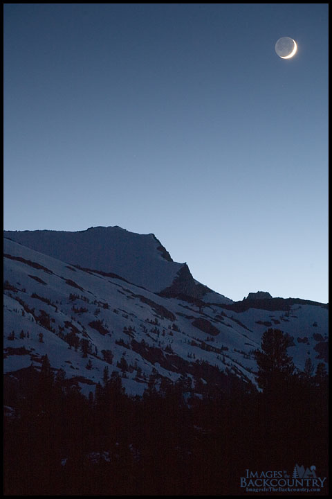 Moon Over Peak
