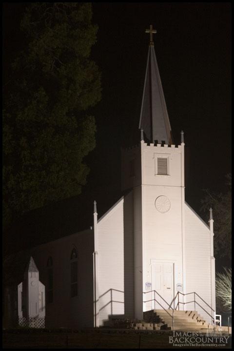 Saint Joseph's Church at Night
