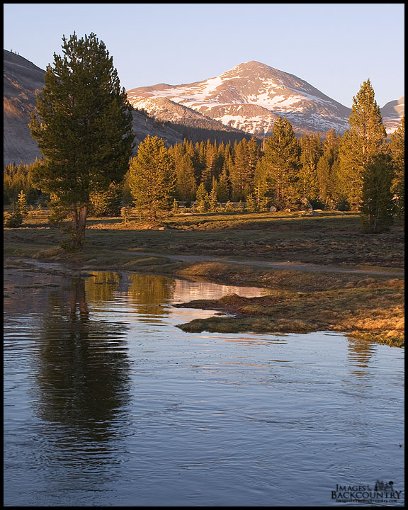 "Mammoth Peak From Tuolmne ""Lake"""