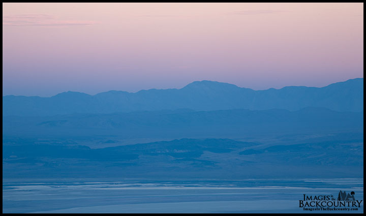The Owens Valley Sunset