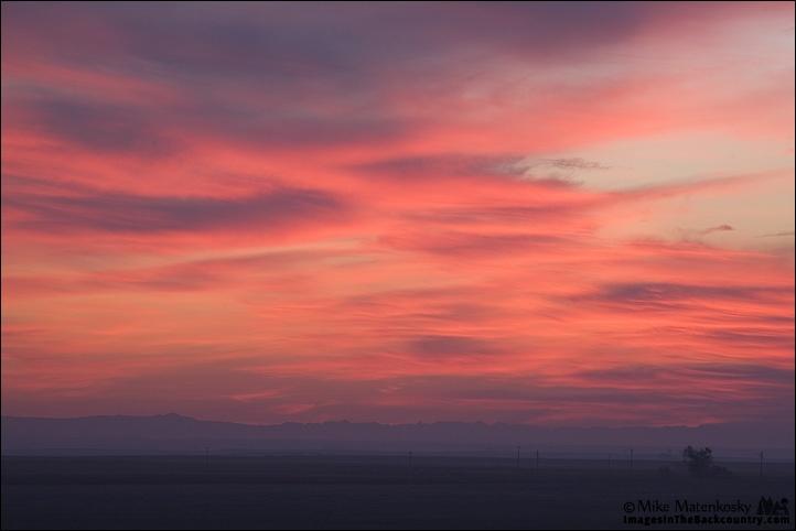 Sunrise Over Merced