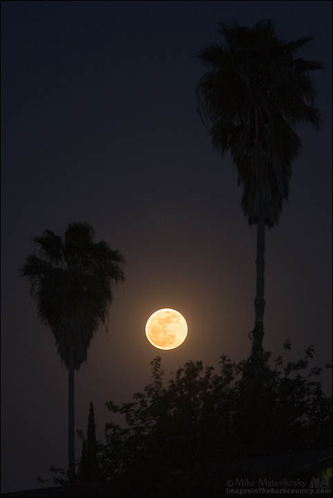 Supermoon at Atwater California