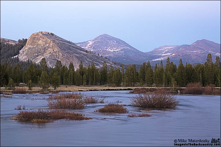Tuolumne Meadows at Dusk