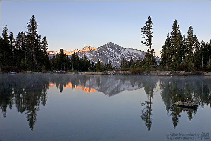 Mammoth Peak at Sunrise 3