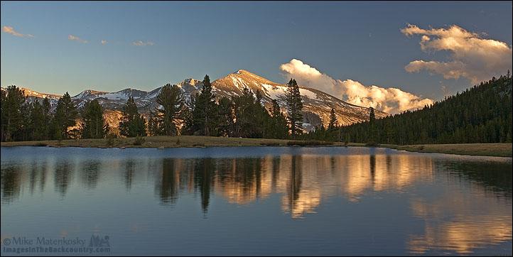 Before Sunset Over Mammoth Peak