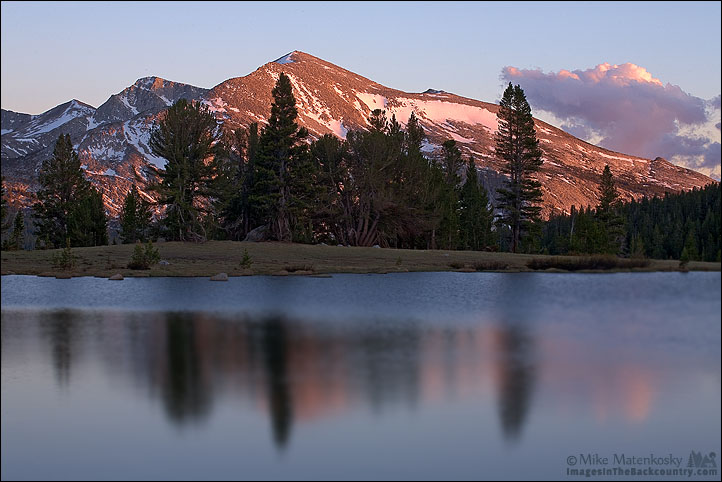 Sunset Over Mammoth Peak