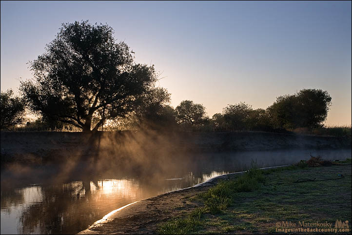 Sunrise at Great Valley Grasslands
