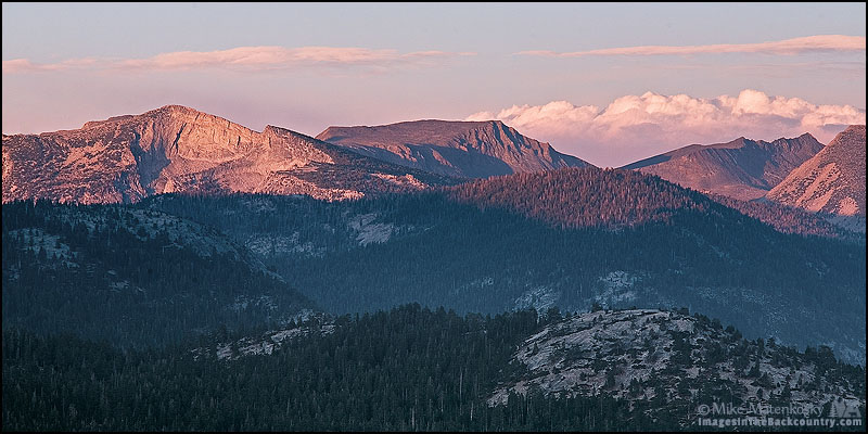 Vogelsang Peak from Glacier Point