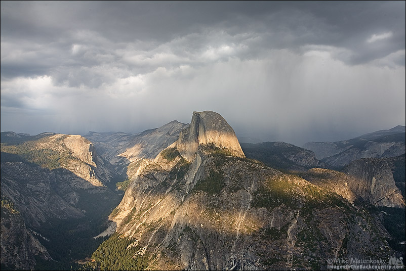 Storm Clouds at Glacier Point