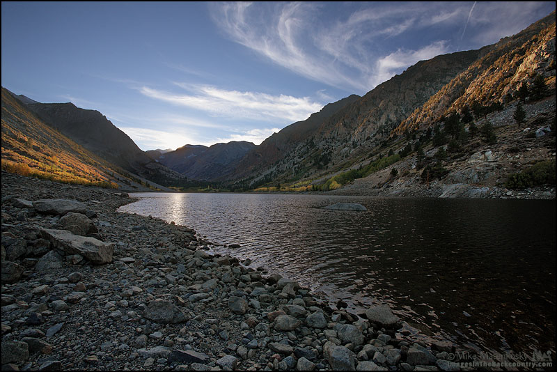 Before Sunset at Lundy Lake