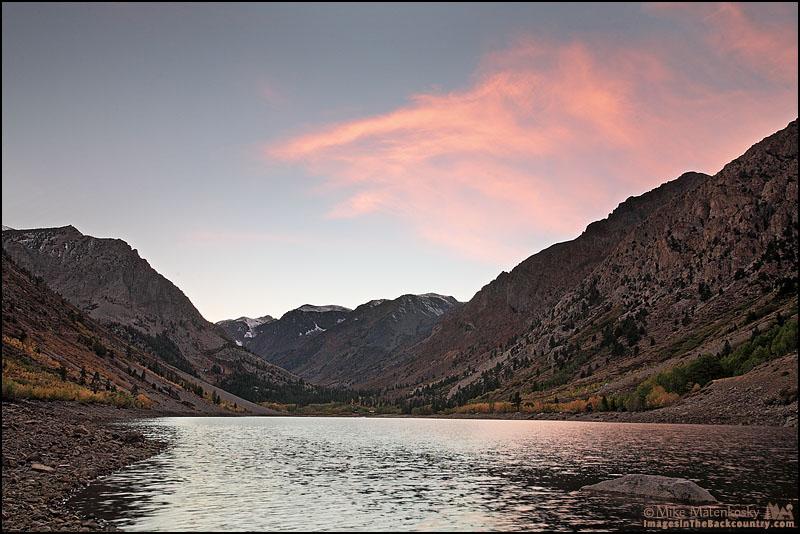 Sunset at Lundy Lake