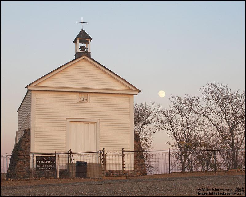 Moon Over Saint Catherine's Church