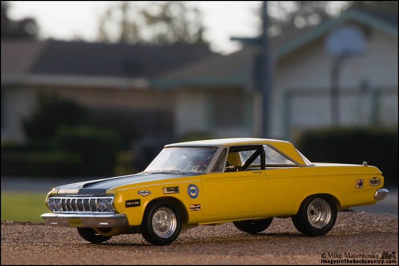 My 1/24-scale 1964 Plymouth Belvedere
