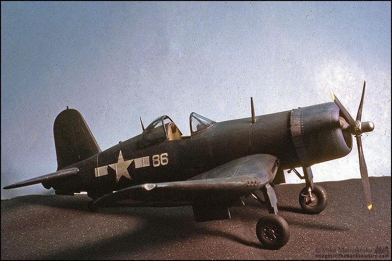 Revell's 1/32 Scale F4U-1A Corsair