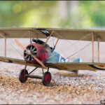 My 1/72 Scale Sopwith Camel Plastic Model