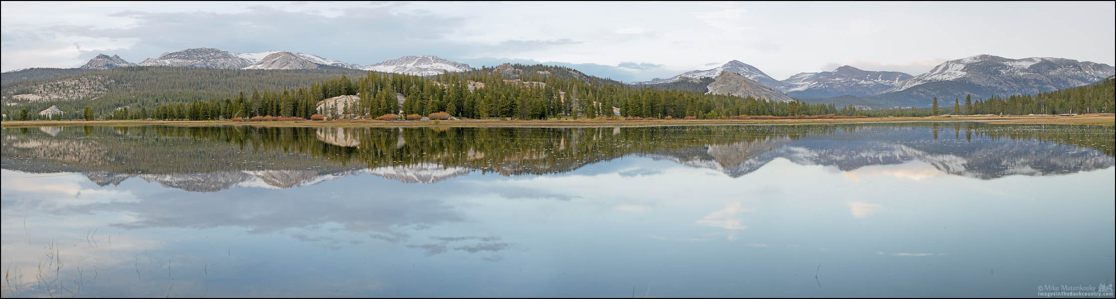 A Tuolumne Meadows Panoramic