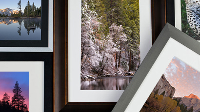 Photo Extras - Metal and Wood Frames