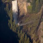 Vernal Falls from Glacier Point Yosemite