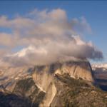 Half Dome from Glacier Point in Yosemite