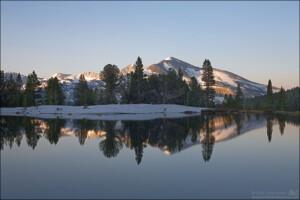 Mammoth Peak in the Morning