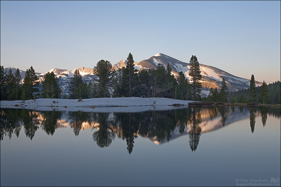 Mammoth Peak in the Morning