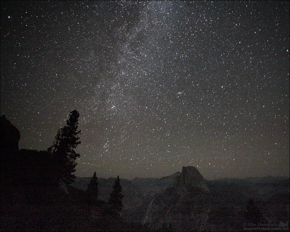 Milky Way Over Glacier Point