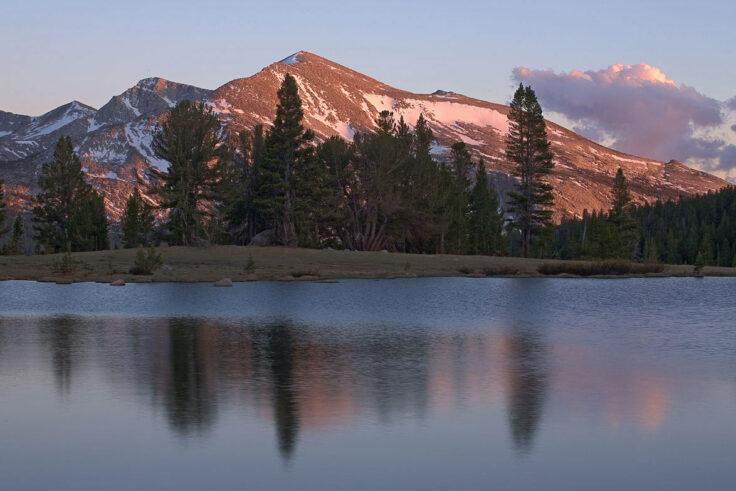 Sunset on Mammoth Peak, Yosemite